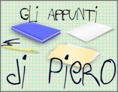 Gli appunti di Piero